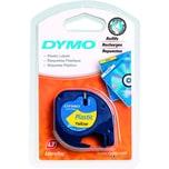 Dymo Etikettenkassetten-System S0721670 12mmx4m gelb Plastikband