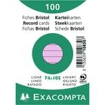 ExacomPTA Karteikarte A7 liniert rosa Nr. 13330B PA 100 Stück