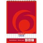 Herlitz Notizblock A7 kariert weiß Nr. 110734 50 Blatt