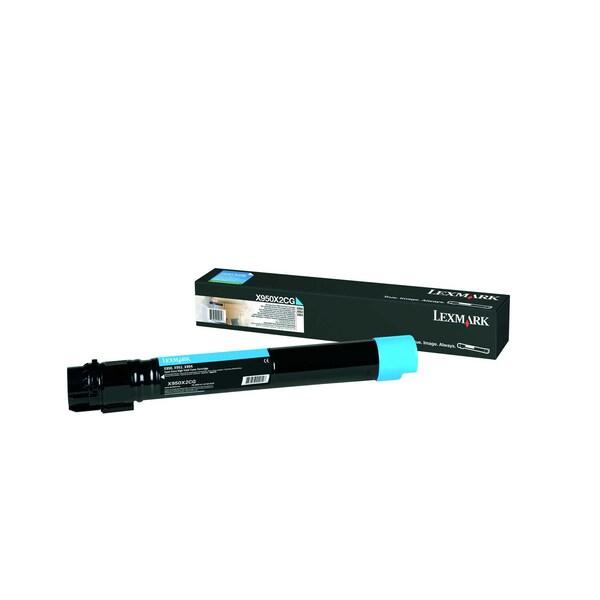 Lexmark Toner X95x X950X2CG 22.000Seiten cyan