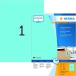 Herma Premium-Etikett Nr. 4403 blau PA 100 Stk 210x297mm Signalcharakter