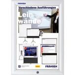 Franken Bilderwechselrahmen A4 Security Nr. BS1901. 27.2x35.9x1.7cm. Aluminium