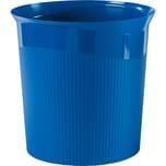 HAN Papierkorb Re-Loop rund 13 Liter blau recycelter Öko-Kunststoff Nr. 18148-914. Höhe 29cm