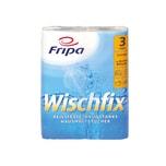 Fripa Küchenrolle Wischfix 3-lagig 100% Frischzellstoff hochweiß Nr. 3012011. PA= 2 Rollen