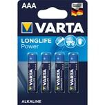 Varta Batterie Highenergy Micro Aaa Lr03 Nr. 04903110414 15V 1.260Mah 4St