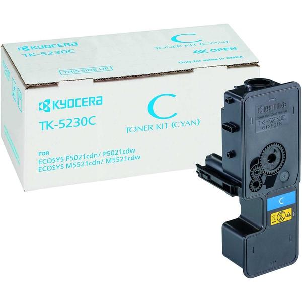 Kyocera Toner 1T02R9CNL0 TK5230C 2.200Seiten cyan