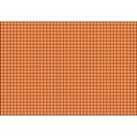 BRUNNEN Karteikarte A7quer karie. orange Nr. 102270240. PA= 100Stk . 180g