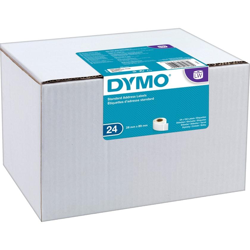 Dymo Adressetikett Standard Lw13188 Nr. S0722360 89X28Mm Pa=130Stk