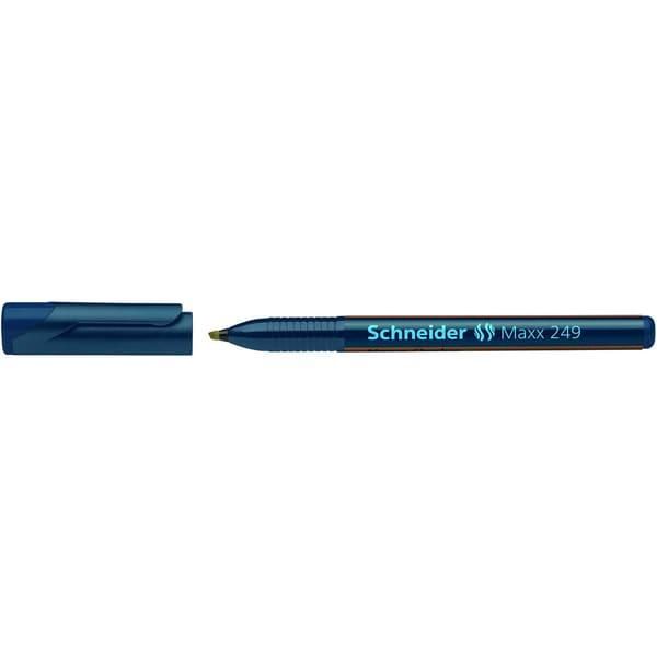 Schneider Geldscheinprüfstift Maxx 249 Money Checker 1-3mm schwarz