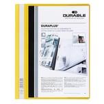 DurableAPlus Angebotshefter A4 gelb Nr. 2579-04 Innentasche Rückendeckel