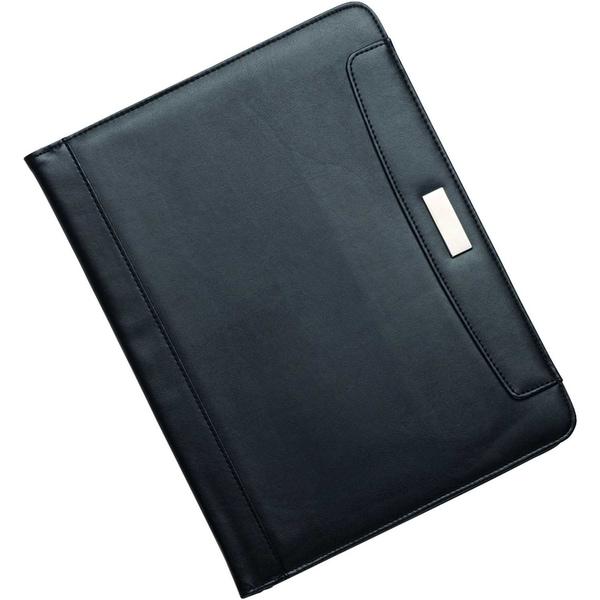 Alassio Konferenzmappe Mares 96086 DIN A4 Kunstleder schwarz