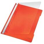 Leitz Schnellhefter A4 orange Nr.4191-45 PVC-HartfolieGreifausschnitt
