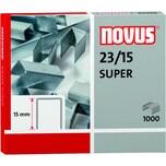Novus Blockhefterklammern 23/15 Nr. 042-0044 PA 1.000 Stück verzinkt