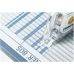 Franken Transparentband Wochenenden S1429 Farbe graublau