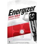 Energizer Knopfzelle 357/303 Silberoxid Nr. E300784002. 1.55V. 188mAh