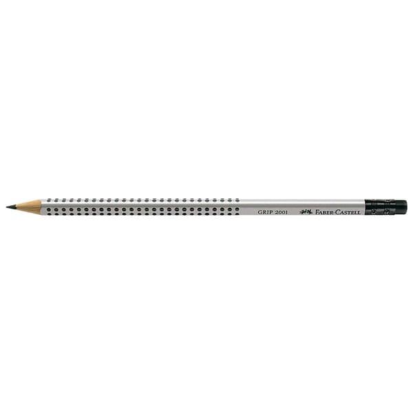 Faber Castell Grip 2001 Bleistift mit Gummitip B