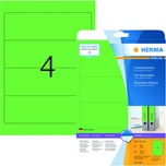 Herma Rückenschild Nr. 5099 grün PA 80Stk breit/kurz sk bedruckbar