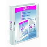 VELOFlex Präsentationsringbuch Velodur Nr. 1143190 2 Ringe Ø 25mm weiß 40mm