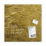 Sigel Glasboard artverum 48x48cm Nr. GL 262 Metallic-Gold