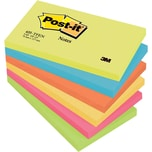 Post-it Activ Collection 127x76mm Nr. 655TFEN sortiert 6 Block à 100Bl