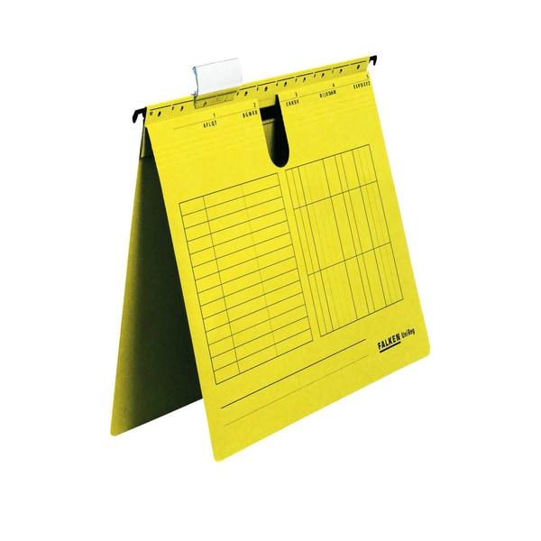 Falken Hängehefter Unireg A4 Gelb Nr. 80002827 Kfm. Heftung