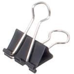 Maul Foldbackklemmer Mauly 7x19mm Nr. 2141990 schwarz PA 12Stk