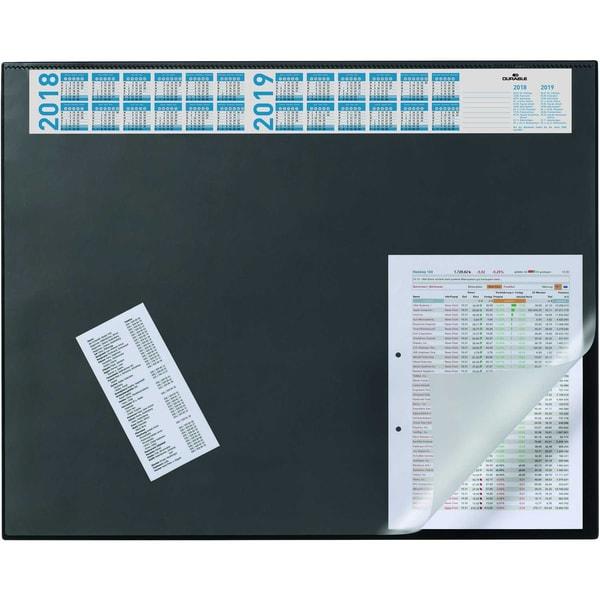 Durable Schreibunterlage schwarz Nr. 7204-01 mit Jahresplaner 52x65mm