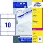 Zweckform Adress-Etikett Nr. L7173-100 PA 1.000St weiß 991x57mm bedruckbar