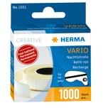 Herma Vario Nachfüllrolle festhaftende Papierstücke lösungsmittelfrei Nr. 1051. PA= 1.000 Stück