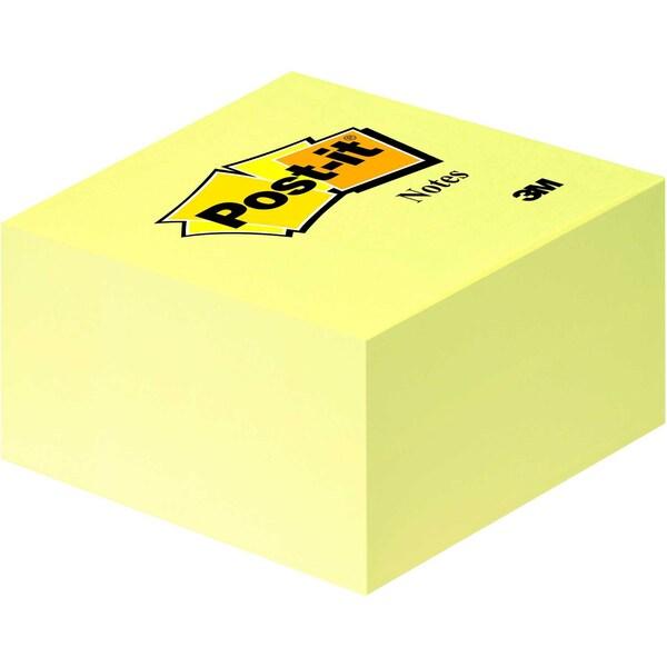 Post-it Haftnotiz 76x76mm gelb Nr. 636B Würfel à 450 Blatt