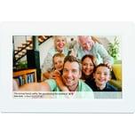 Denver Digitaler Bilderrahmen PFF-1010WHITE WiFi weiß