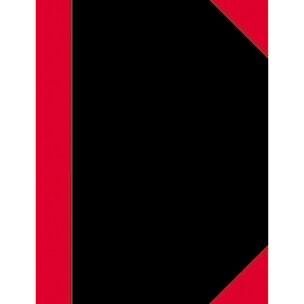 Kladde China A5 kariert 100 Blatt schwarz/rot