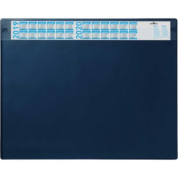 Durable Schreibunterlage dunkelblau Nr. 7205-07 52x65mm Deckel wechselbar