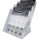 Helit Prospekthalter H6102702 DIN A4 Nr. H6102702. 1 Fächer. glasklar