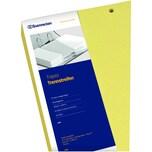 Soennecken Trennstreifen Trapez 1626 gelb PA100St 190 g/m² Karton