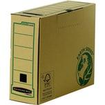 Bankers Box Archivschachtel R-Kive Earth 4470201 recyc. KartonRückenbreite 10cm