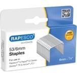 Rapesco Heftklammer 751 53/6 verzinkt PA= 2.000Stk.