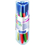 STAED Fasermaler triplus Color sort. Nr. 323 PR12 PA 12 Stück 10mm