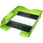 Helit Briefablage A4/C4 transp. hellgrün Nr. H2363550 bruchsicheres PET