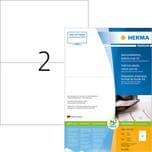 Herma Adress-Etikett Nr. 8691 weiß PA= 800Stk. 105x148mm A5 bedruckbar