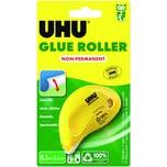 Uhu Kleberoller Dry & Clean 65mmx85m Nr. 50520 non permanent Einweg