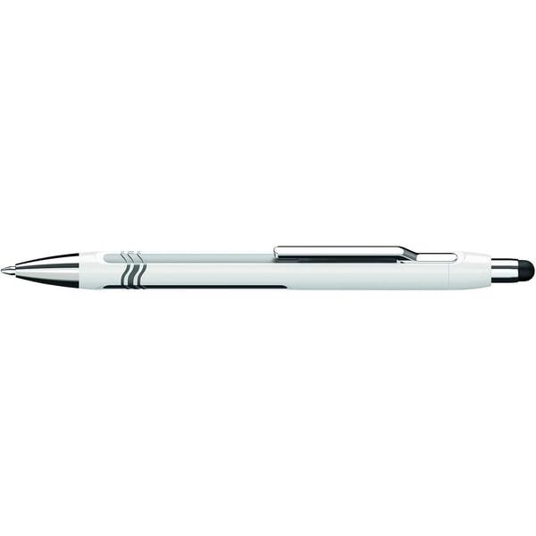 Schneider Kugelschreiber EPSILON TOUCH Nr. 138702 XB blau Schaft weiß-blau