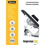 Fellowes Laminierfolie Impress A4 100mic Nr. 5313904 PA 250Stk glänzend