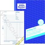 Zweckform Auftragsformular A5 Nr. 751 3x 50 Blatt 1 Duchschlag