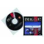 Durable CD Hülle für 1 CD mit Booklet Nr. 5202-19 PA 10 Stk mit Schutzvlies