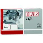 Novus Blockhefterklammern 23/8 Nr. 042-0040 PA 1.000 Stück verzinkt