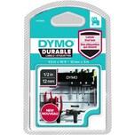 Dymo Schriftbandkassette 1978365 12mmx3m weiß auf schwarz D1