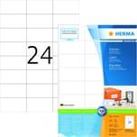 Herma SuperPrint-Etiketten Nr.4615 weiß PA 4.800Stk 70x37mm permanent