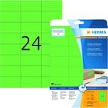Herma SuperPrint-Etiketten Nr. 4469 grün PA 480 Stück 70x37mm permanent