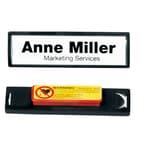 Durable Clip Card mit Magnet schwarz Nr. 8132-0117x67mm PA 25 Stück